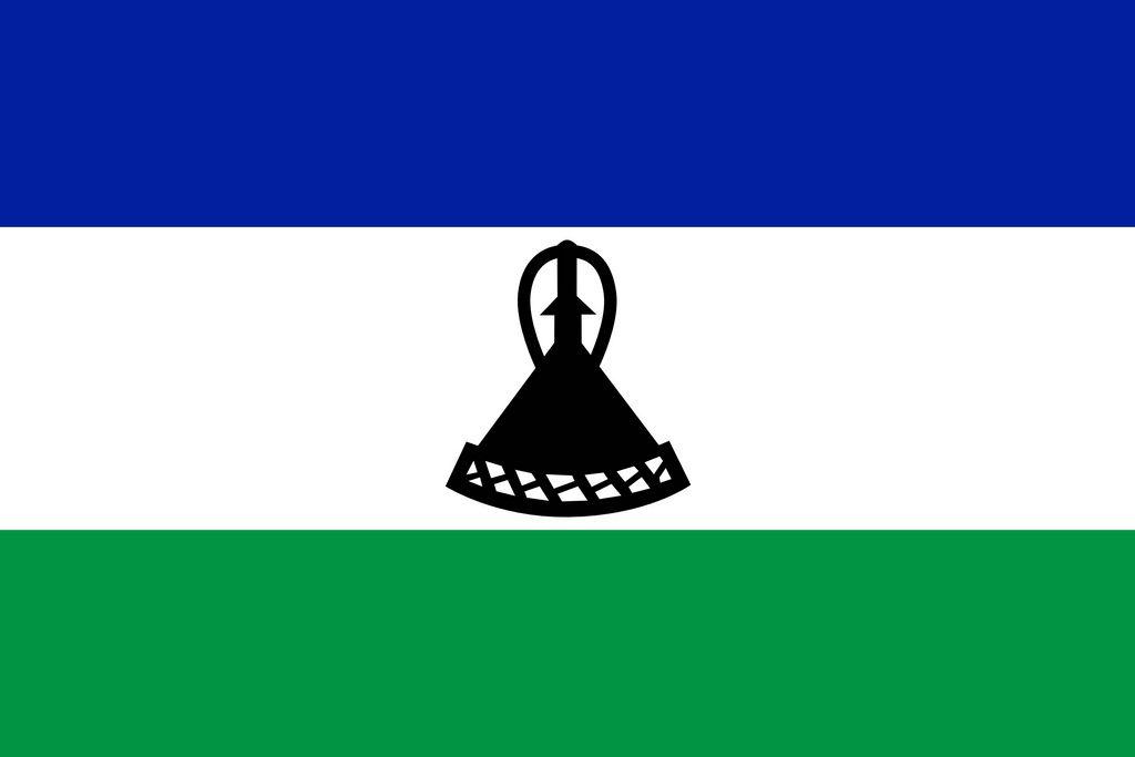 drapeau du lesotho
