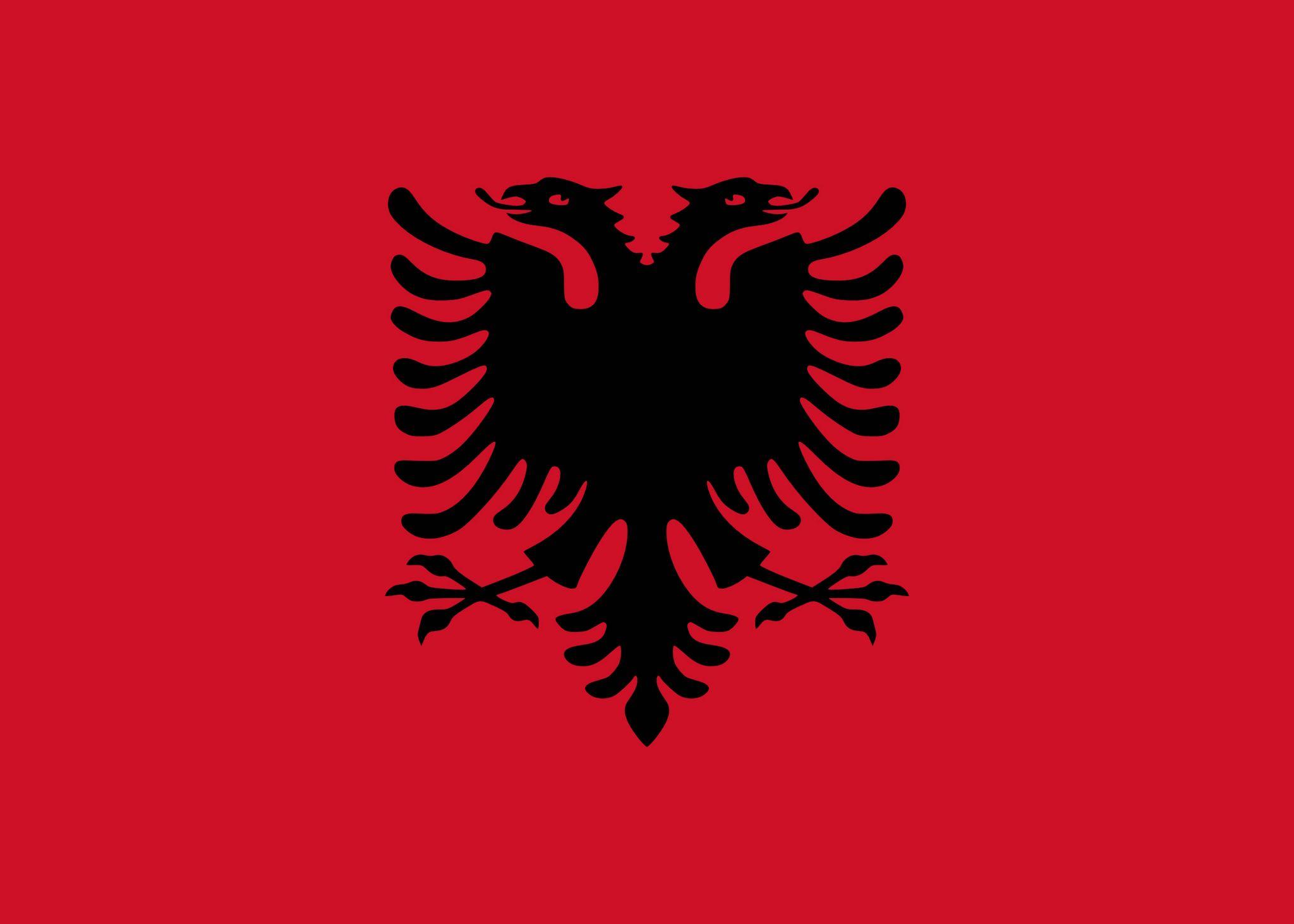 drapeau de lalbanie - Drapeau Espagnol A Imprimer