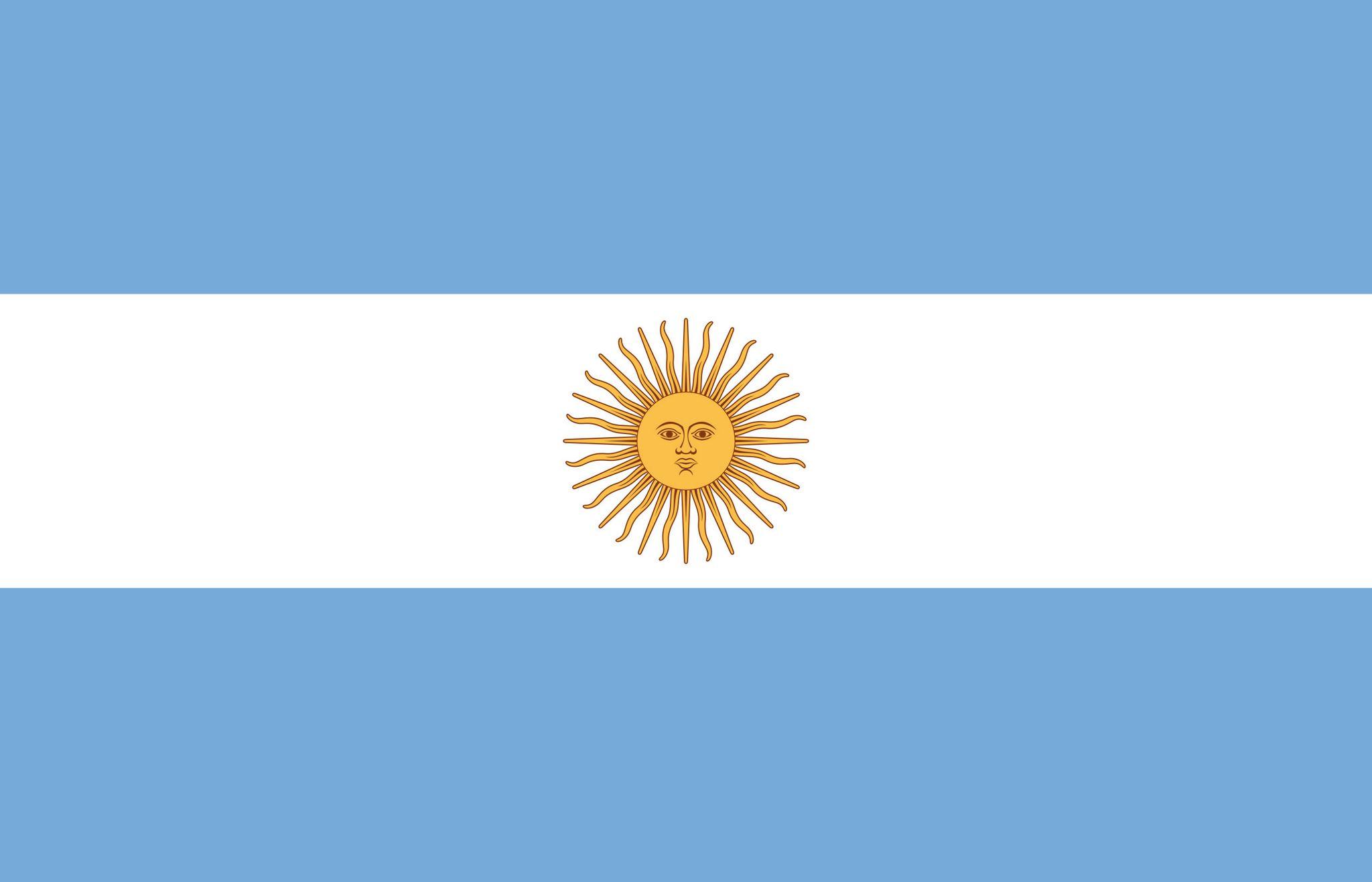 Super Drapeau de l'Argentine, Drapeaux du pays Argentine KB19