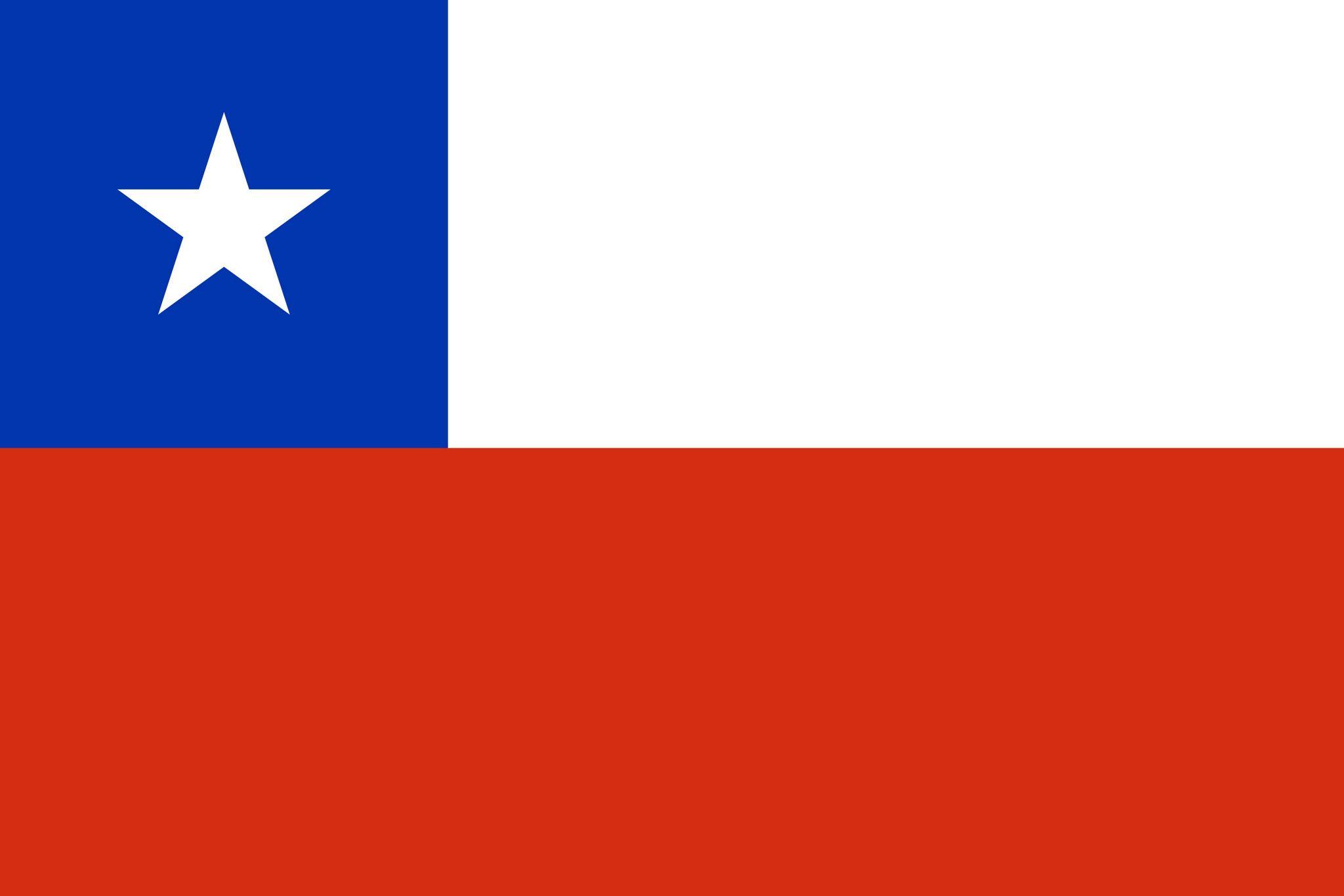 Top Drapeau du Chili, Drapeaux du pays Chili RD32