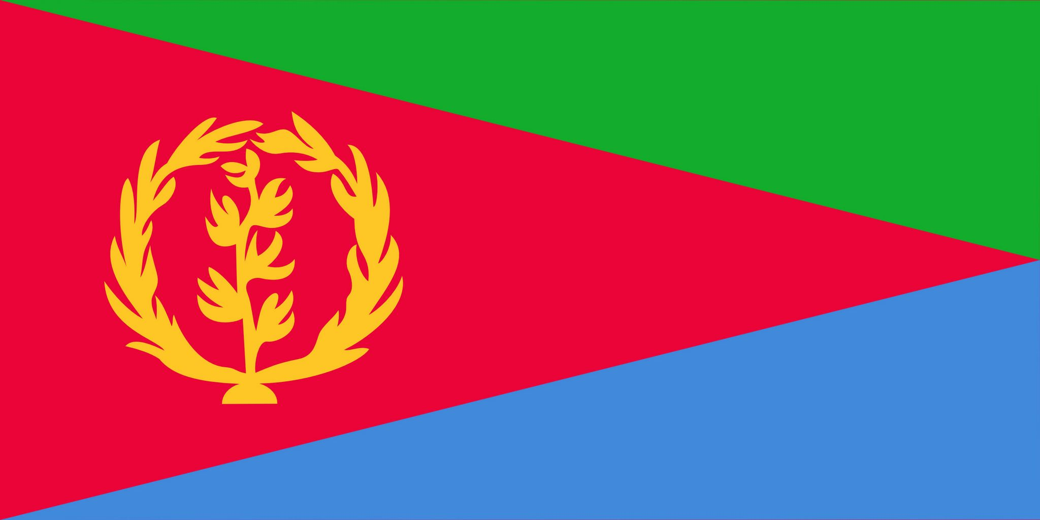 Erythree drapeau