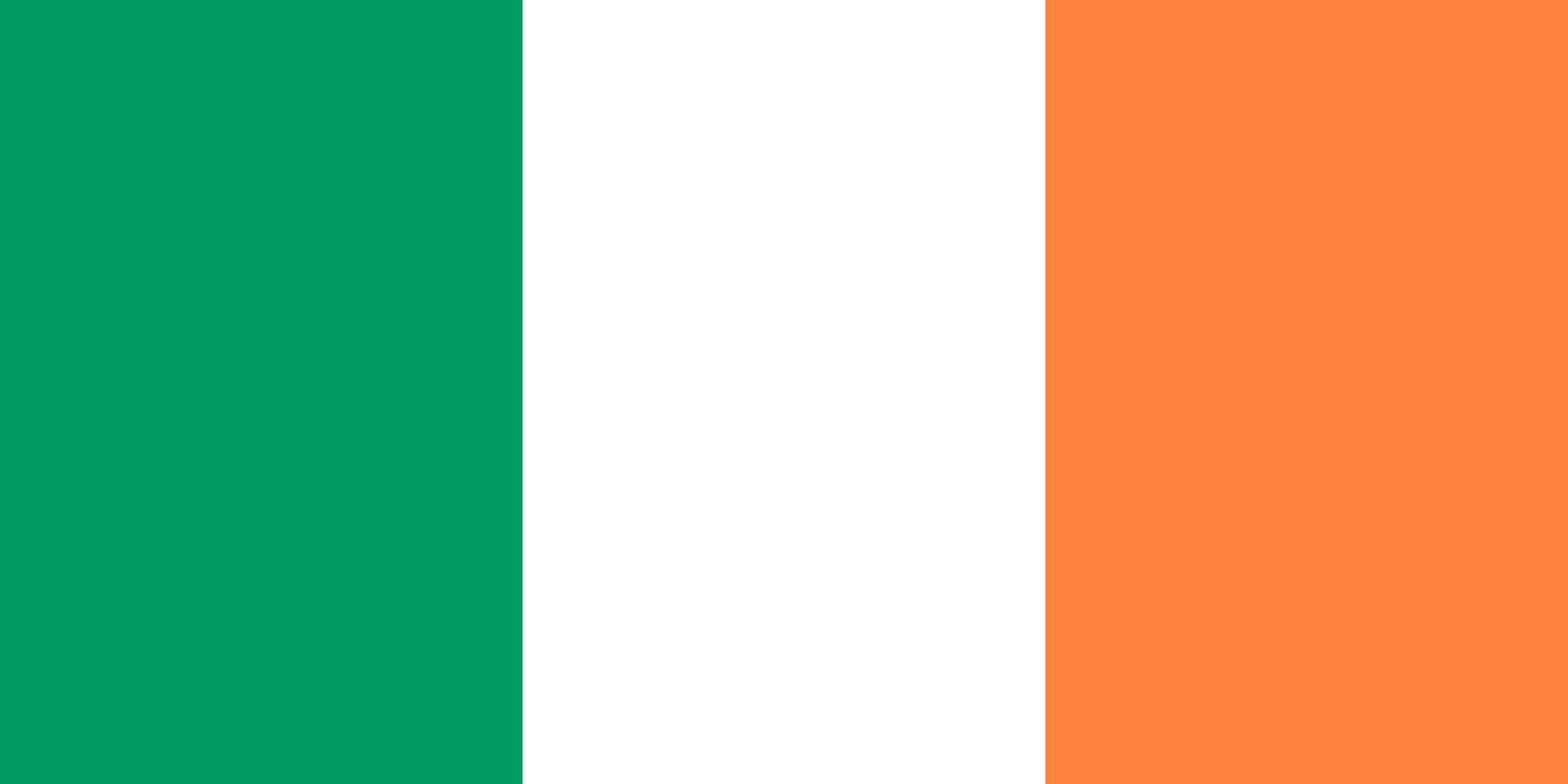 Populaire Drapeau de l'Irlande, Drapeaux du pays Irlande OU41