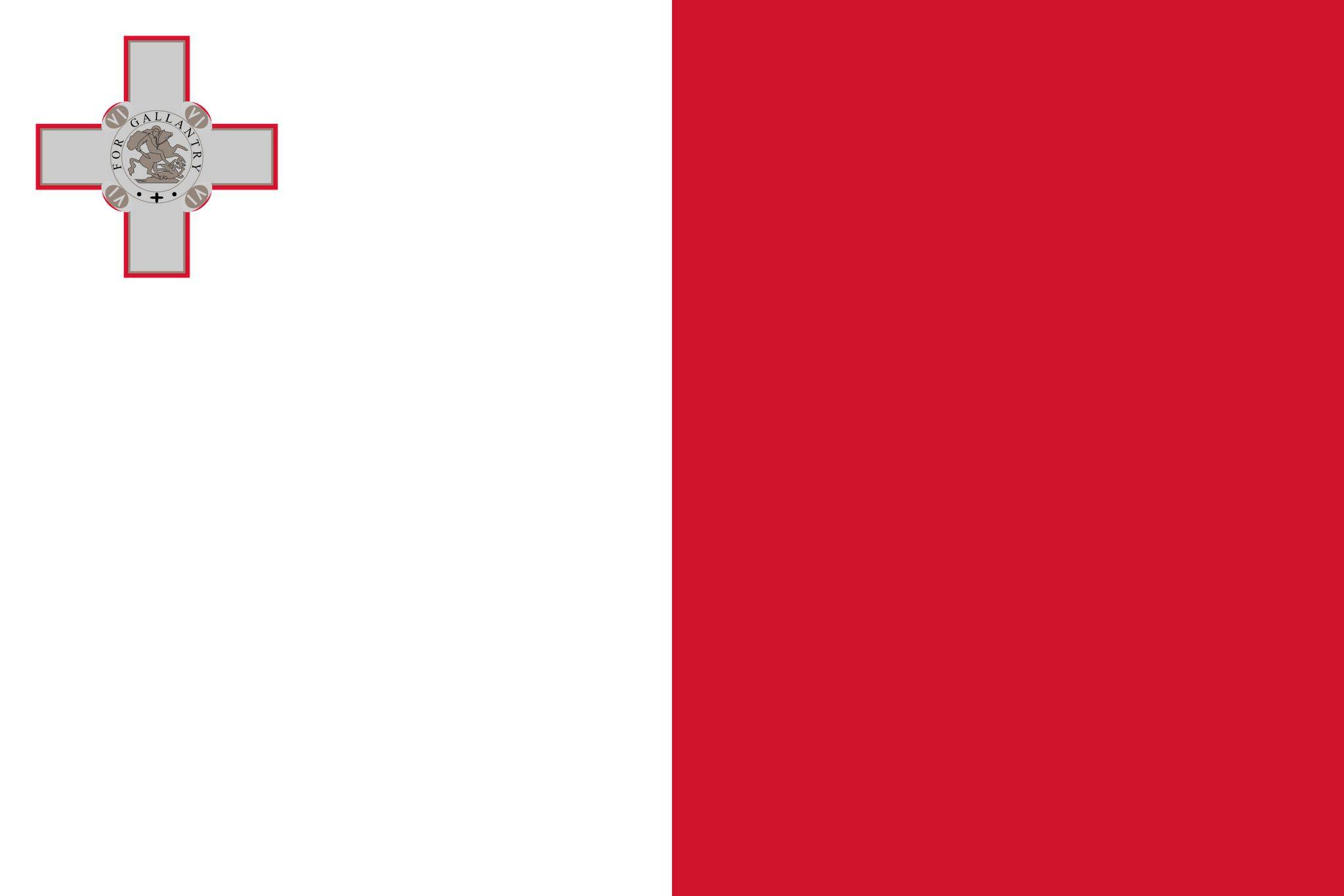 Super Drapeau de Malte, Drapeaux du pays Malte KB19