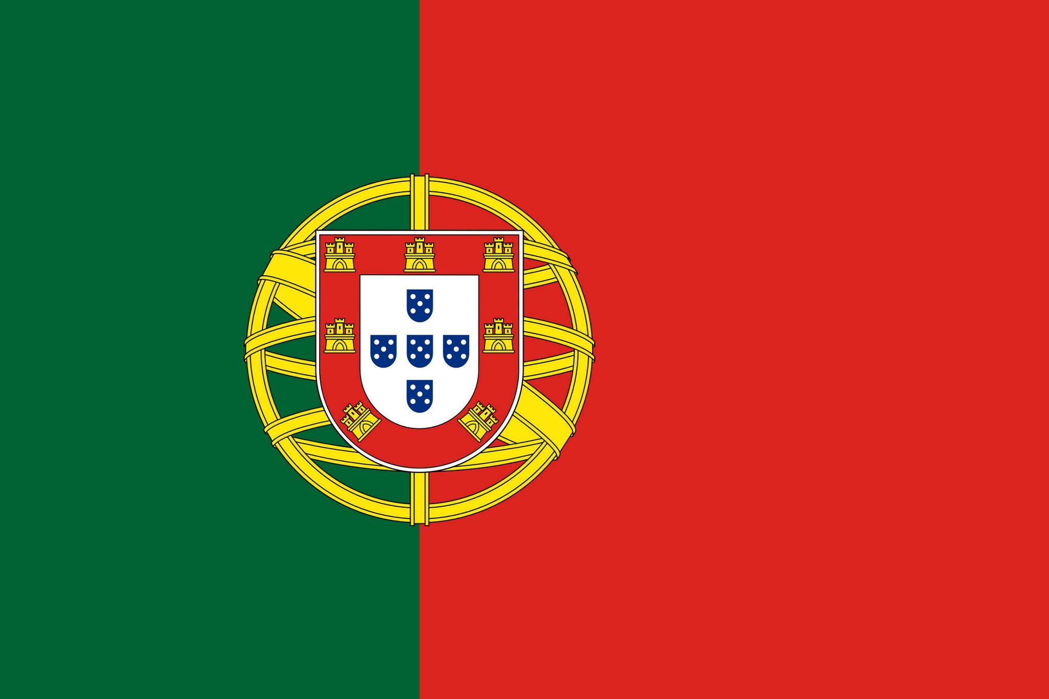 Drapeau du portugal drapeaux du pays portugal - Coloriage drapeau portugal ...