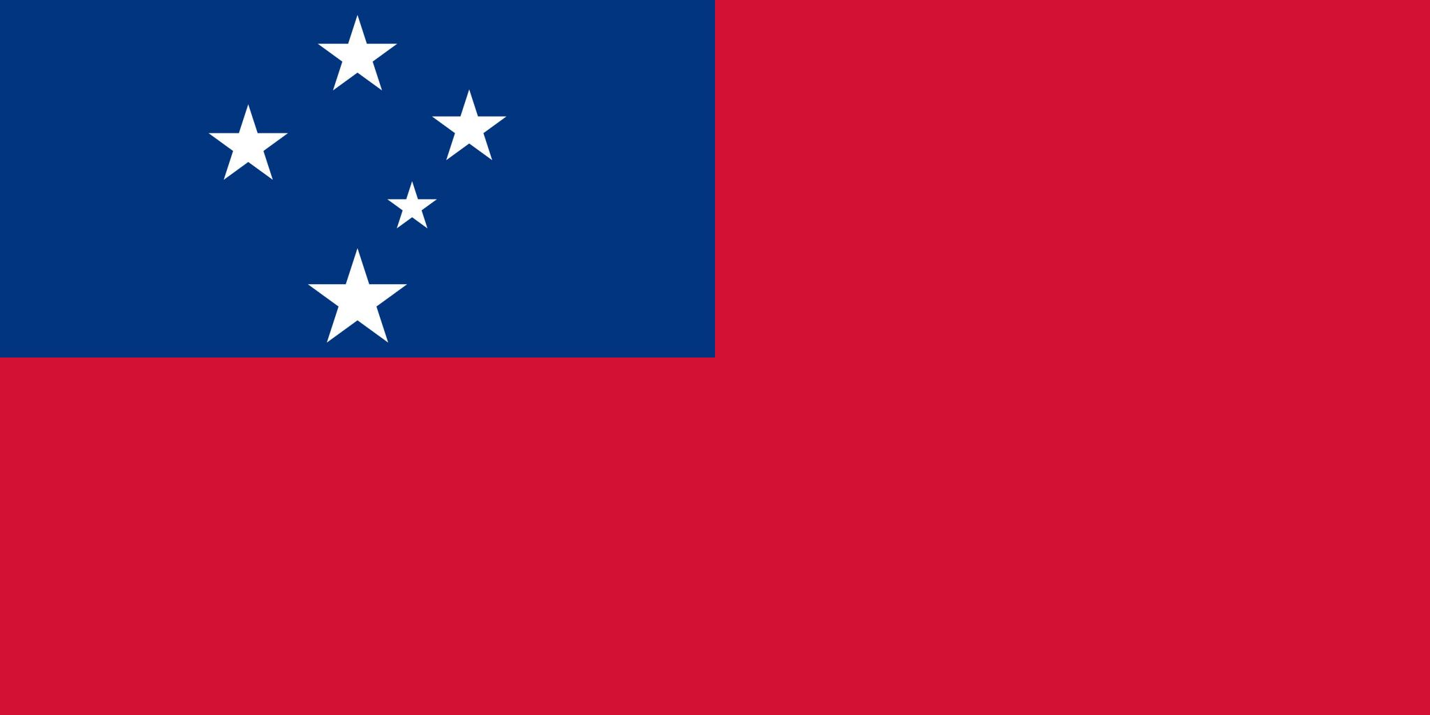 Super Drapeau des Samoa, Drapeaux du pays Samoa KB19