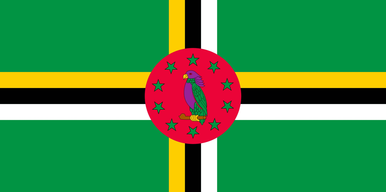 drapeau de la dominique