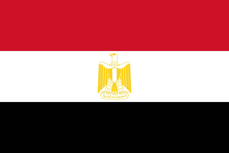 Top Drapeau de l'Égypte, Drapeaux du pays Égypte RF54