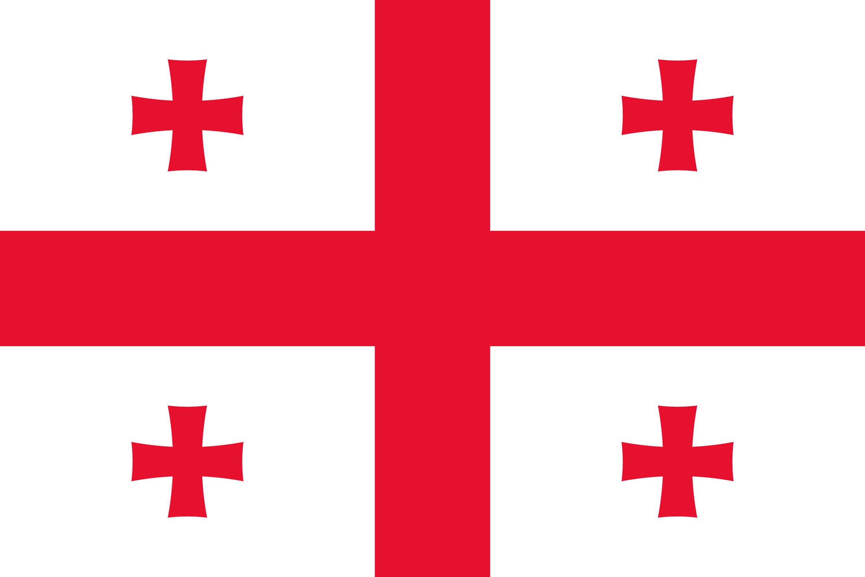 Drapeau de la g orgie drapeaux du pays g orgie - Drapeau de l amerique ...