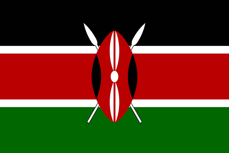 Drapeau du kenya drapeaux du pays kenya - Couleur du monde kenya ...