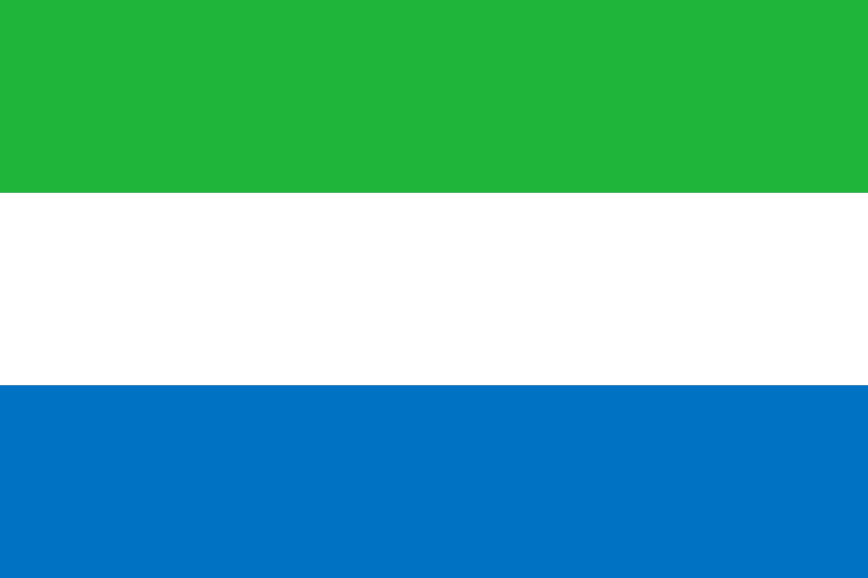 la sierra leone drapeau